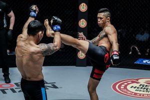 Martin Nguyễn bảo vệ ngôi vương hạng Featherweight