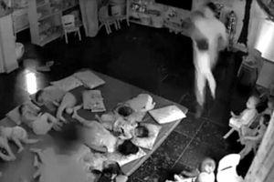 Quảng Ninh: Đình chỉ cơ sở mầm non có nữ nhân viên 'xách tay quăng trẻ xuống chiếu'