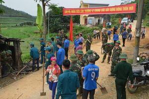 TP Móng Cái: Quân dân chung sức xây dựng nông thôn mới