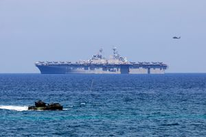 Kết thúc tập trận, Mỹ nói sẽ tiếp tục hoạt động ở Biển Đông