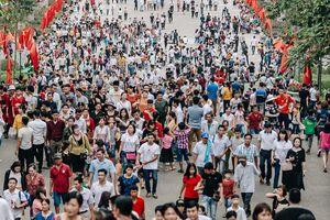 Dòng người đổ về Đền Hùng như thác, Phú Thọ huy động nghìn người đảm bảo an ninh