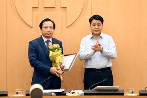 Chân dung Tân Giám đốc Sở Quy hoạch Kiến trúc Hà Nội Nguyễn Trúc Anh