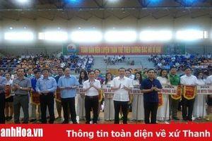 Khai mạc giải bóng bàn, cầu lông, quần vợt h è Sầm Sơn - Cúp Bia Thanh Hoa