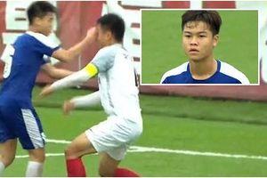 Vì sao cầu thủ U17 Hà Nội đấm rách mắt đối thủ Trung Quốc?