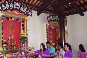 Quảng Nam: Lễ dâng hương Giỗ tổ Hùng Vương ở xã Tam Quang
