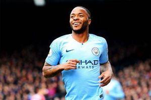 Sterling tỏa sáng giúp Man City thắng Crystal Palace
