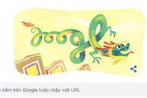 Giỗ tổ Hùng Vương lần đầu xuất hiện trên Google Doodle hôm nay