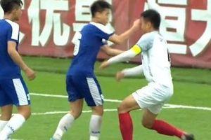 LĐBĐ Việt Nam lên tiếng về cầu thủ U17 Hà Nội đấm thẳng mặt đối thủ