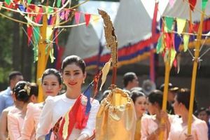 Người dân Campuchia đón Tết cổ truyền Choul Chnam Thmey