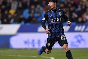 Công Phượng nỗ lực nhưng không kéo được Incheon United khỏi vũng bùn