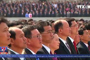 Triều Tiên tổ chức mít tinh lớn