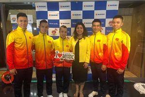 Đoàn Việt Nam giành ba HCV tại Giải aerobic thế giới