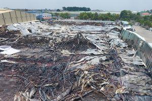 Tan hoang sau vụ cháy lớn ở KCN Sóng Thần 2, Dĩ An, Bình Dương