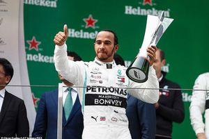 Lewis Hamilton vô địch chặng đua F1 thứ 1000 ở Trung Quốc