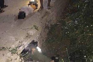 Đâm vào cống bê tông, 3 học sinh trên xe máy tử vong