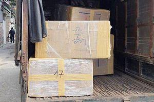 Cảnh sát bắt nhóm 4 đối tượng, thu 600kg ma túy trong xe tải