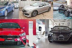 Sedan hạng C nào có giá rẻ nhất hiện nay?