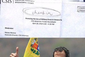 Mỹ 'họp kín' đề xuất sử dụng quân sự ở Venezuela, đối tác Nam Mỹ miễn cưỡng?