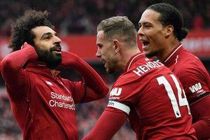 Đội hình tiêu biểu vòng 34 Premier League: Liverpool áp đảo