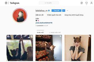 Lisa trở thành nghệ sĩ Hàn Quốc sở hữu nhiều followers nhất trên Instagram, những thứ hạng còn lại thuộc về ai?