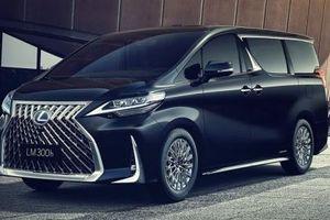 'Chuyên cơ mặt đất' Lexus LM chính thức trình làng, không còn cái bóng Toyota