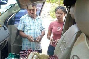 Bắt 2 đối tượng người Lào vận chuyển gần 40.000 viên ma túy tổng hợp