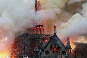 'Sao' Việt bàng hoàng khi hay tin nhà thờ Đức Bà Paris chìm trong biển lửa