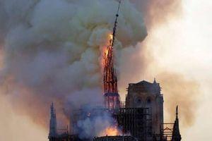 Tổng thống Emmanuel Macron: Các kiến trúc sư giỏi nhất sẽ cùng người dân Pháp phục dựng lại nhà thờ