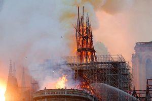 Cháy Nhà thờ Đức Bà Paris: Cộng đồng mạng xót xa và bàng hoàng