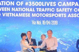 Triển khai chiến dịch '3.500 sinh mạng' về an toàn giao thông