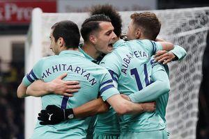Lần đầu giữ sạch lưới trên sân khách, Arsenal trở lại top 4 Premier League