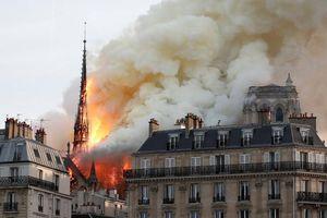 Tổng thống Putin: Người Nga đau buồn vì vụ cháy Nhà thờ Đức Bà Paris