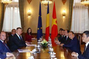 Thủ tướng Nguyễn Xuân Phúc hội kiến các nhà Lãnh đạo Romania