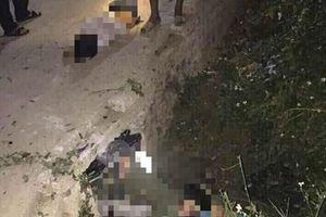 Tông vào cống ven đường, 3 học sinh tử vong tại chỗ