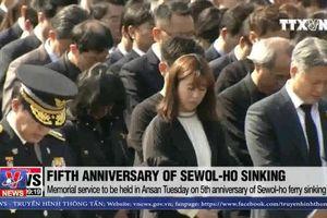 Hàn Quốc tưởng niệm 5 năm thảm họa chìm phà Sewol