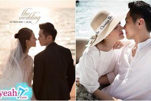Lê Hà (The Face) tung bộ ảnh cưới cực lãng mạn, trai tài gái sắc không khác gì poster phim điện ảnh