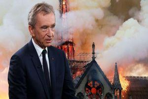 Thêm một tỷ phú Pháp dành hơn 220 triệu USD hỗ trợ tái thiết Nhà thờ Đức Bà