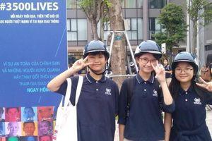 'Đại sứ nhỏ' chung tay kéo giảm TNGT tại Việt Nam