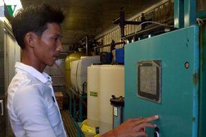 Mua nước ngọt ở Lý Sơn giá cao gấp 26 lần giá nước nhà máy