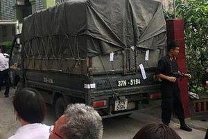Hàng xóm bất ngờ khi cảnh sát phát hiện 600 kg ma túy ở nhà ông Phi