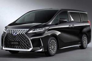 Lexus ra mắt 'xe chở khách' đầu tiên, khoang nội thất kiểu thương gia