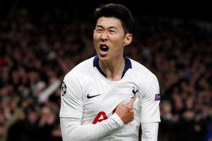 Son Heung-min nổi bật ở đội hình kết hợp Man City và Tottenham