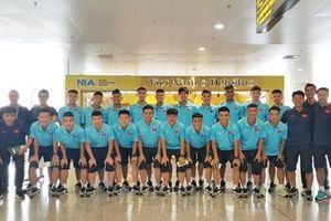 U18 Việt Nam lên đường sang Hồng Kông dự giải Tứ hùng