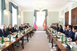 Thủ tướng Việt Nam và Cộng hòa Czech hội đàm