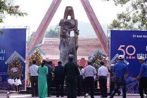 Quảng Ngãi: Tưởng niệm 50 năm ngày 63 thường dân Khánh Giang - Trường Lệ bị thảm sát