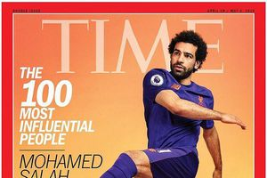 Salah lọt vào danh sách 100 người quyền lực nhất thế giới