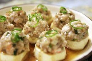 Món ngon mỗi ngày: Đậu hấp tôm thịt siêu ngon cho bữa tối