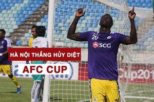 AFC Cup: Hà Nội FC thắng hủy diệt trên đất Myanmar
