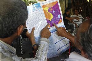 Tàu cá và 20 lao động mất liên lạc gần đường phân định Việt Nam và Indonesia