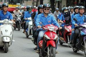 Hà Nội: Tăng cường tuyên truyền về đội mũ bảo hiểm khi tham gia giao thông cho đoàn viên, thanh niên